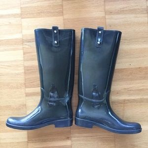 Original Coach rain boots